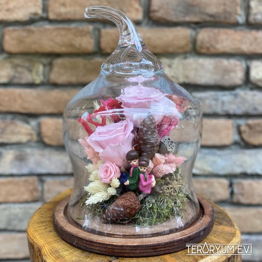 Pembe Şoklanmış Güller
