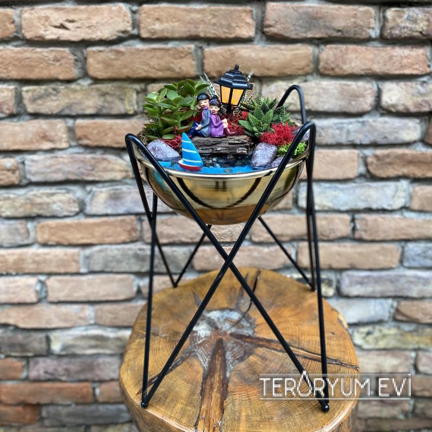 Ferforjeli Minyatür Bahçe