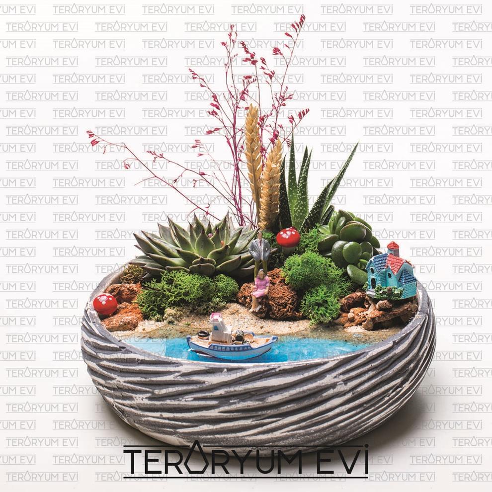 Minyatür Bahçe Su Efekti