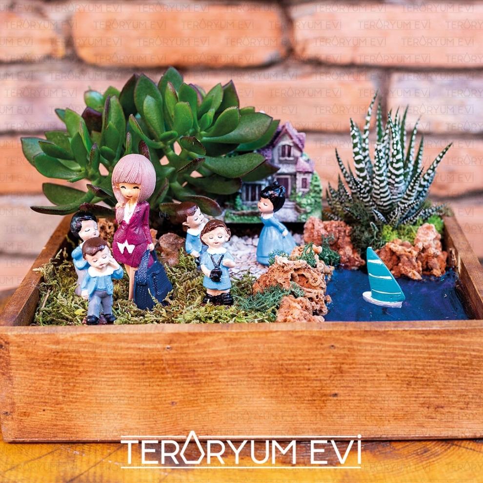 Öğretmenime Minyatür Bahçe