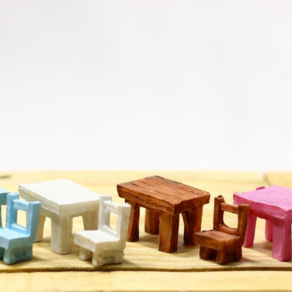 Minyatür Masa Sandalye Figürü