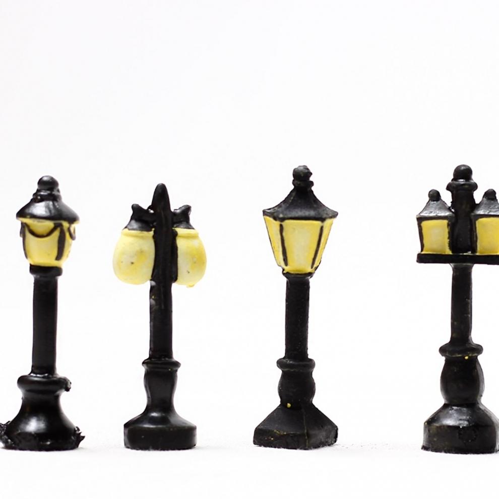 Minyatür Sokak Lambası