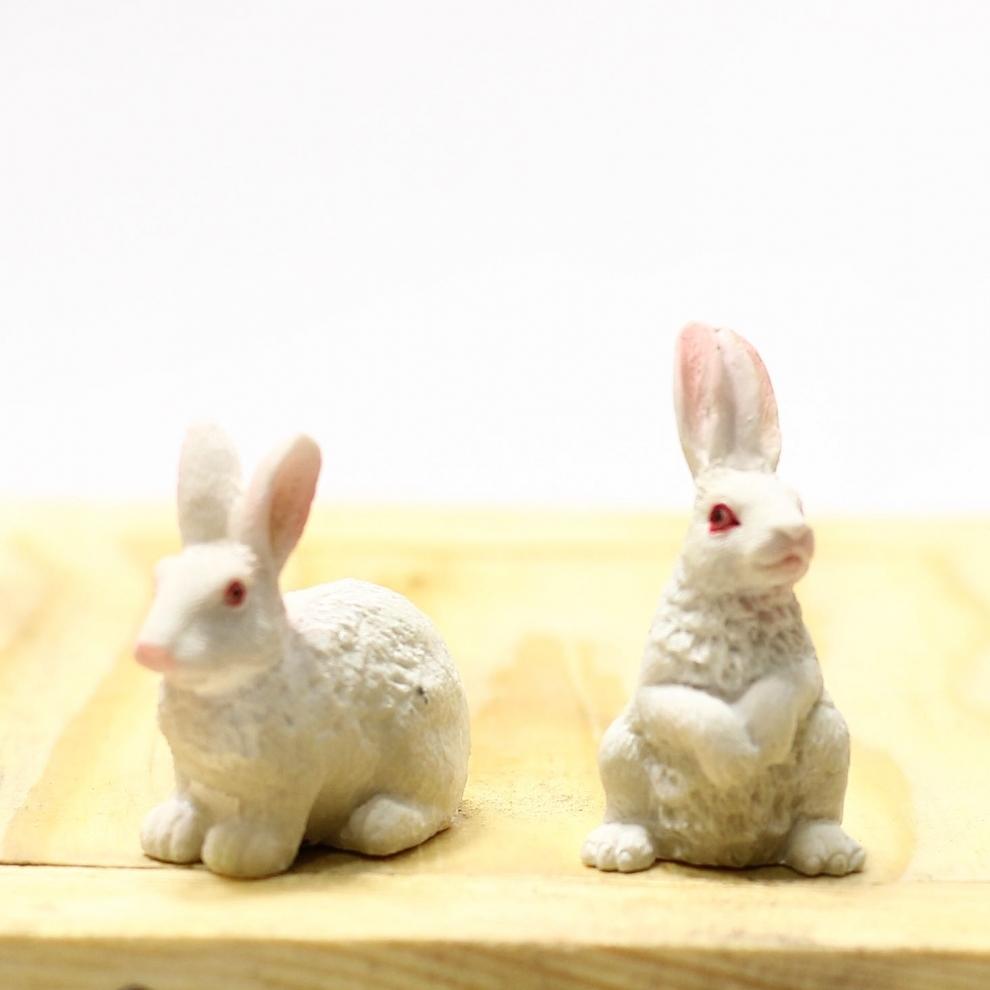 Minyatür Tavşan  Figürü