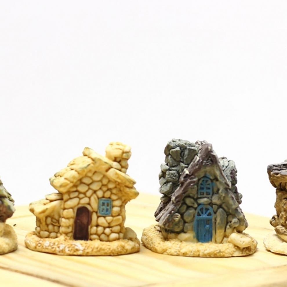 Teraryum Minyatür Taş Ev Figürü