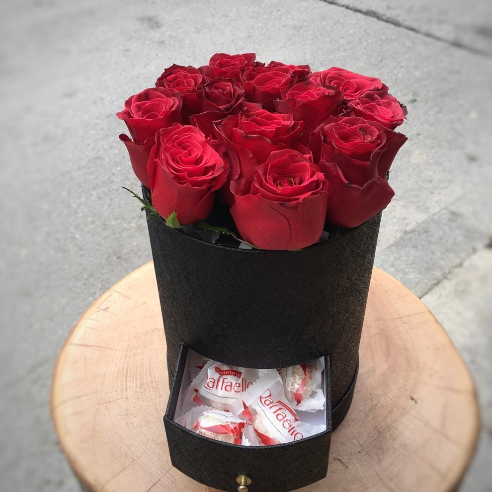 Çekmeceli Kutu Çiçek
