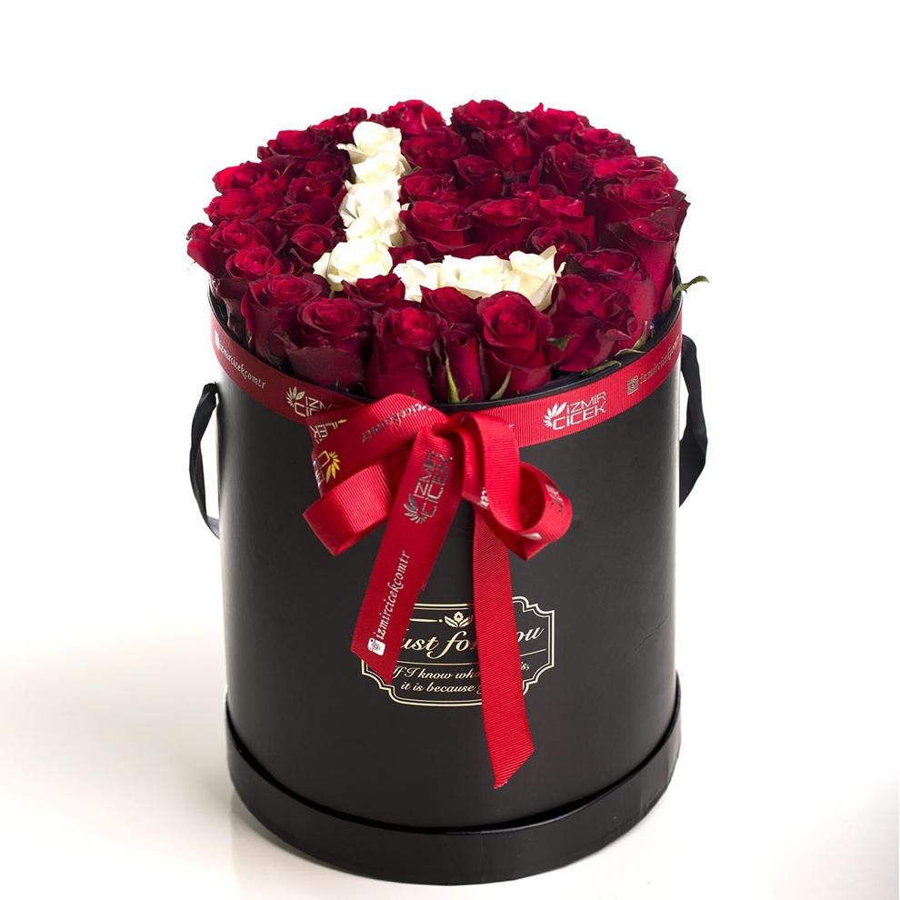Harfli Kutu Çiçek